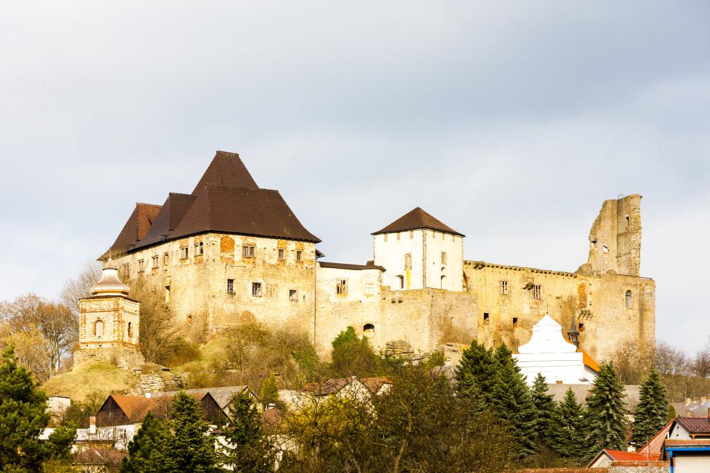Lipnice nad Sazavou hrad, samota Křemen
